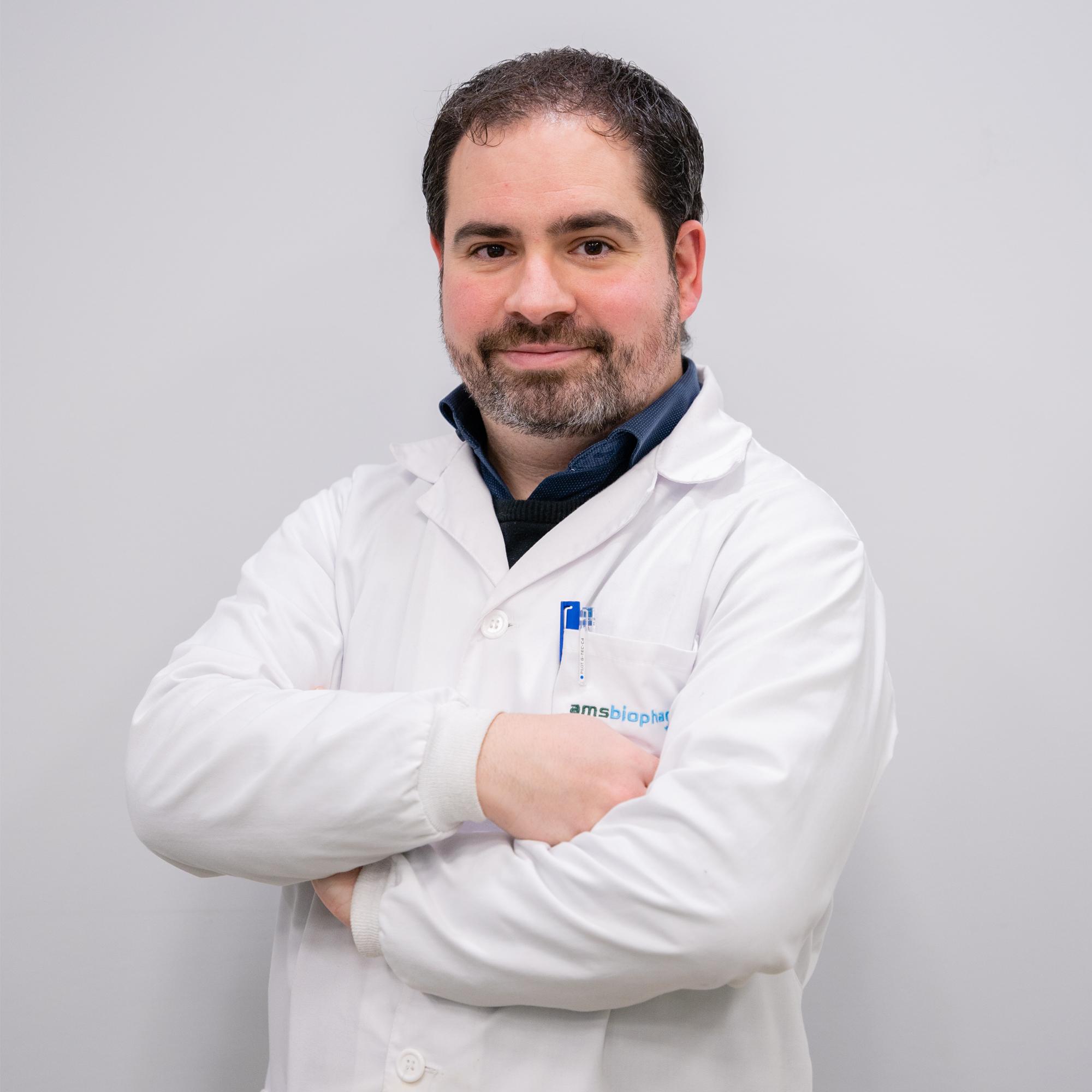 Óscar Cascón - Scientist
